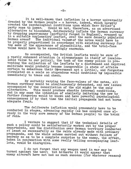 Letter from Humphreys of Campden Hill Gardens October 16, 1939